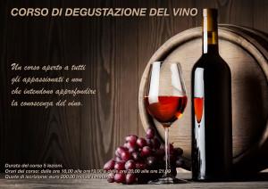 Corso di degustazione del vino - locandina 2